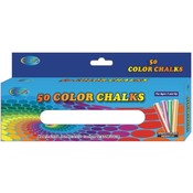 Chalk - Assorted Colors - 3' sticks - 50 pack Wholesale Bulk