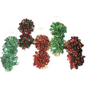 Gift Bows - 4' - 2 pack - assorted colors Wholesale Bulk