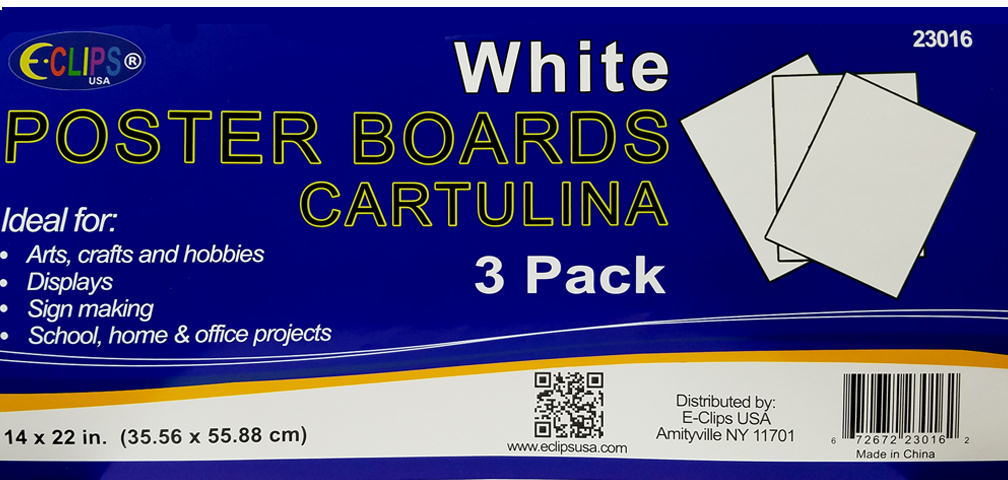 Wholesale poster board sheets