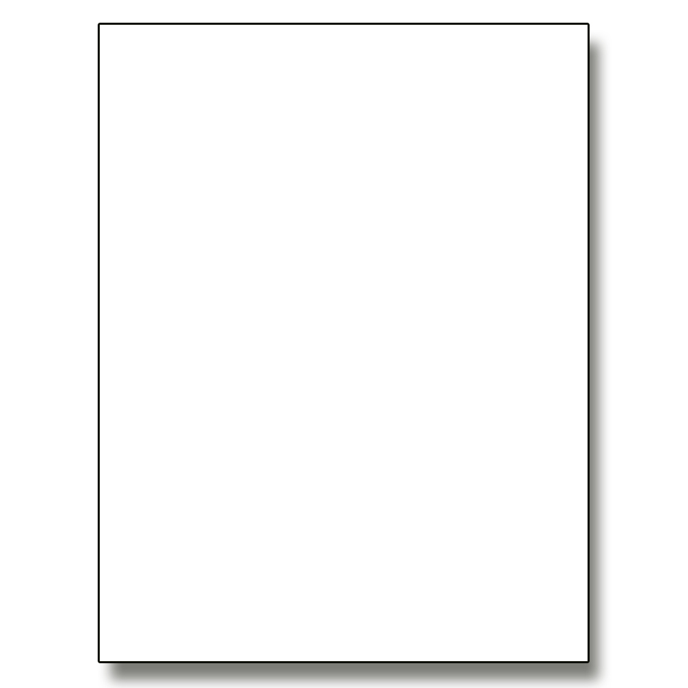 ''White POSTERBoard - 22'''' x 28'''' (1276981)''