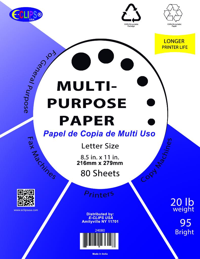 Multi Purpose Copy Paper - White [1949203]