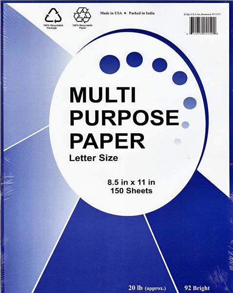 ''White Copy Paper - 150 sheets - 8.5'''' x 11'''' (1277024)''