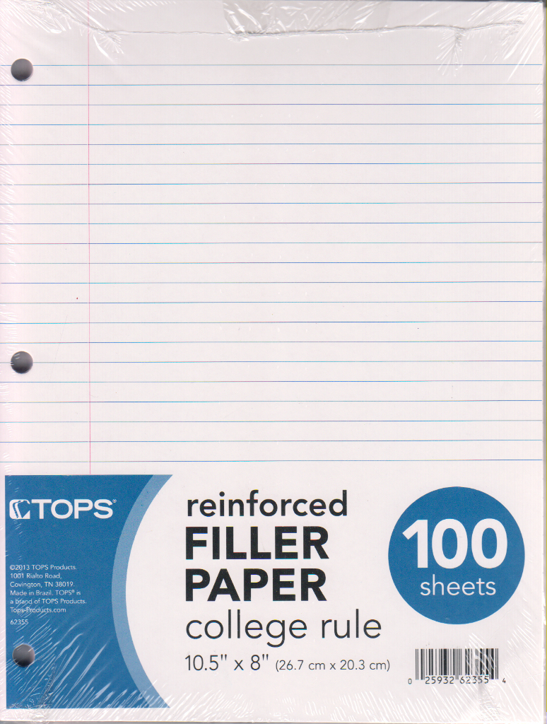 reinforced filler paper Comparison shop for reinforced filler paper paper in office supplies see store ratings and reviews and find the best prices on reinforced filler paper paper with shopzilla's shopping search engine.