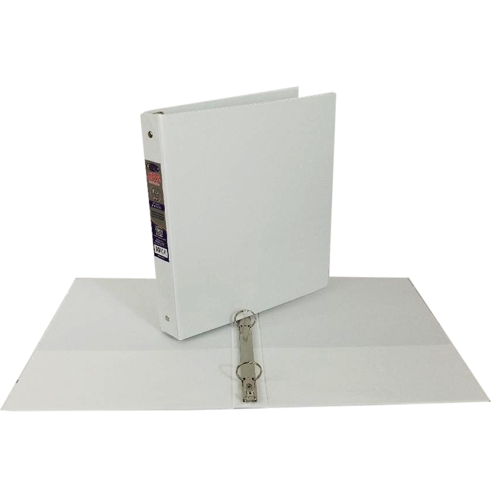 wholesale 1 inch 3 ring vinyl binder white sku 1981548