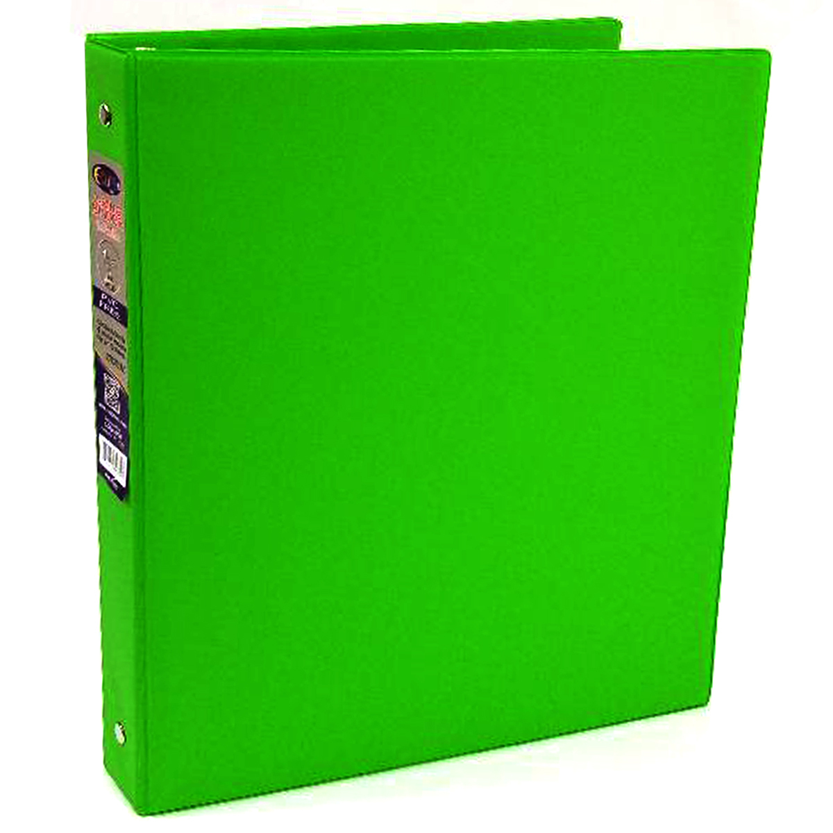 wholesale 1 inch 3 ring vinyl binder green sku 1981545