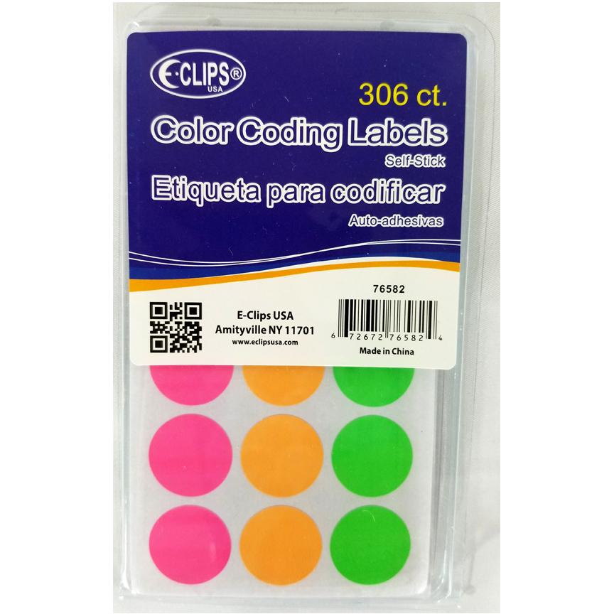 Color Coding Labels - 306 Count [2324782]