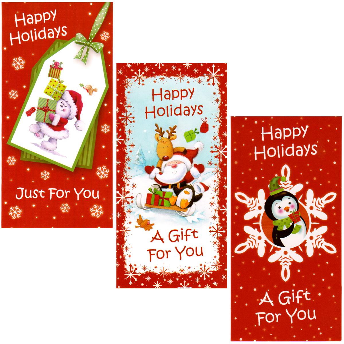 CHRISTMAS Money Holder - 6 pack [1472602]
