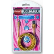 6ft Glitter iPhone 5 USB Charging Cable