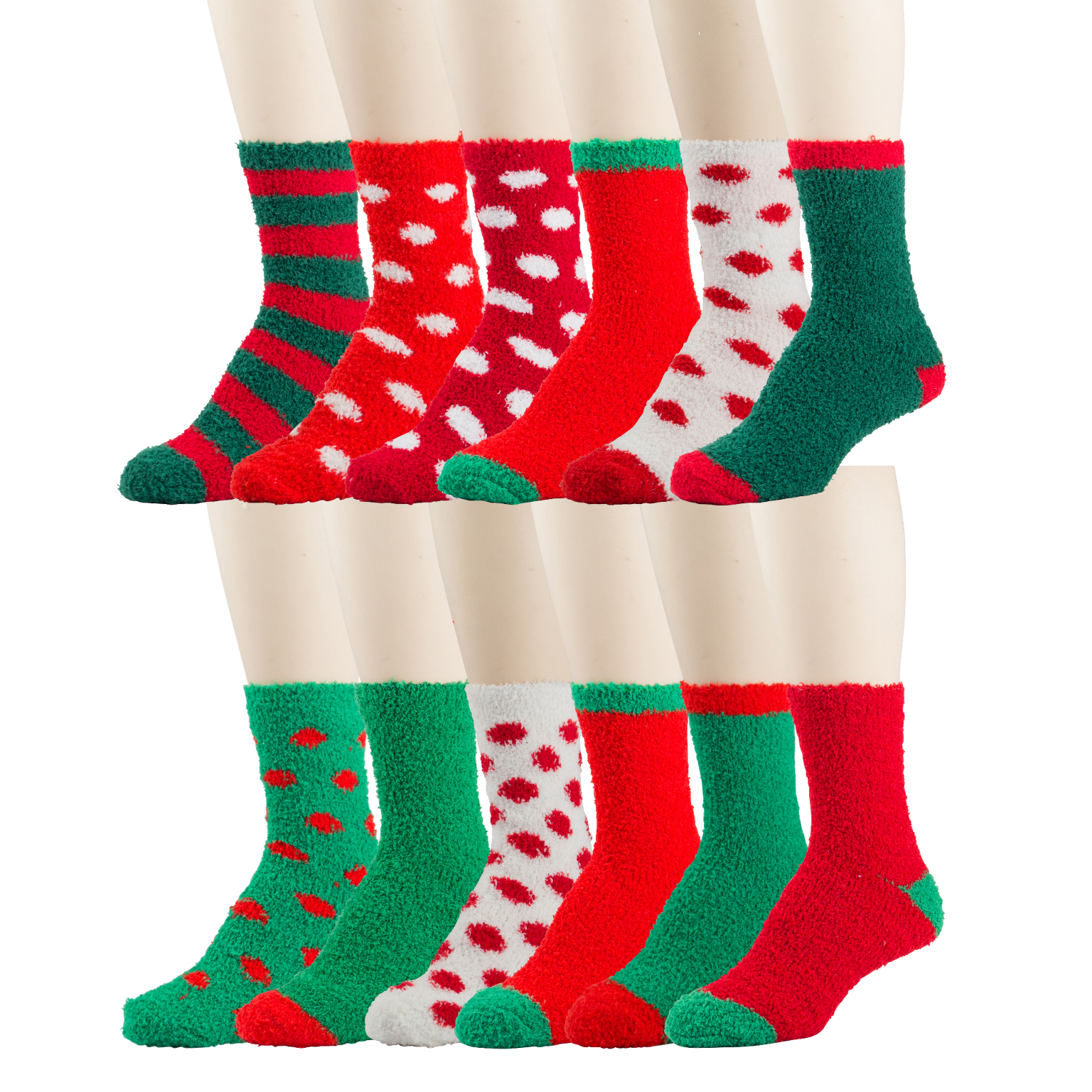 Women's HOLIDAY Print Cozy Soft Socks [2286226]