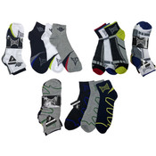 Boy's Tapout Brand Ankle Sock 3-Packs (Size 9-11)