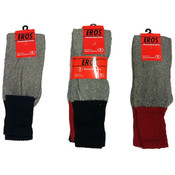 Men's Thermal Socks, Size 10-15 Wholesale Bulk