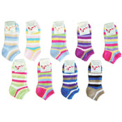 Low-Cut Terry Cloth Socks