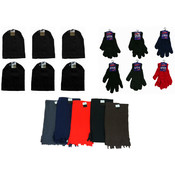 Winter Hats, Gloves and Scarves