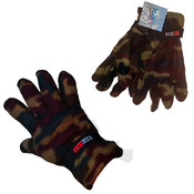 Men's Camouflage Fleece Gloves