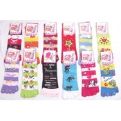 Kids Toe Socks with Decals