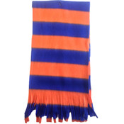 Fleece Scarves-Blue and Orange