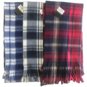 Winter Fleece Scarves-Checkered