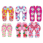 Women&#39;s Assorted Patterned Flip Flops