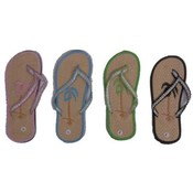 Women&#39;s Bamboo Palm Flip Flops