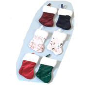"2 Pack 7"" Superplush Christmas Stockings"
