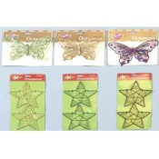 5' Fancy Butterfly Ornaments Butterflies Wholesale Bulk