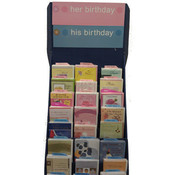 Relative Birthday Cards with Display