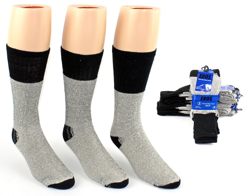 Men's Thermal Crew Boot Socks - Size 10-13 [1869071]