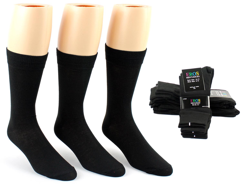 Men's DRESS Socks - Black Size 10-13 [1893772]