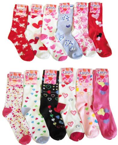 VALENTINE's Day Socks (332032)