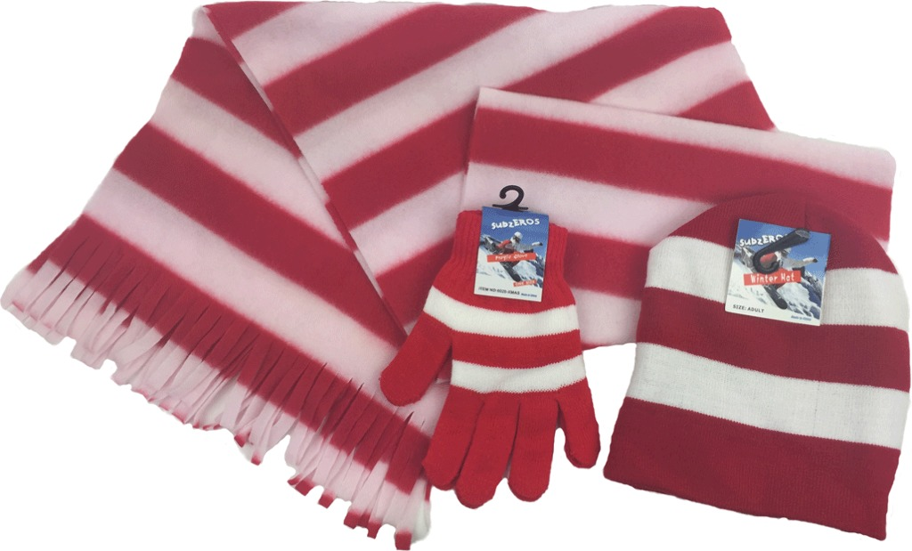 wholesale hats gloves and scarves for sku