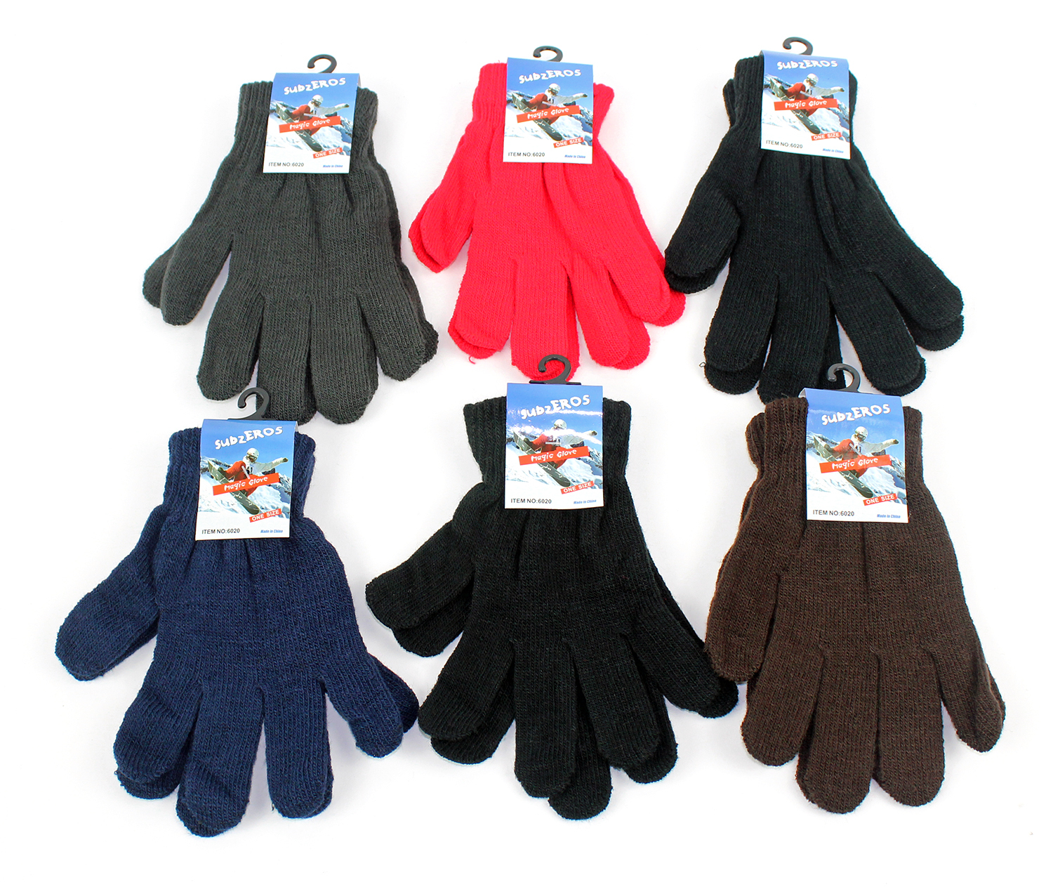 Buy leather gloves in bulk - Wholesale Adult Magic Stretch Gloves