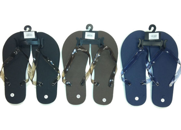 Men's Solid Flip Flops SHOES (386901)
