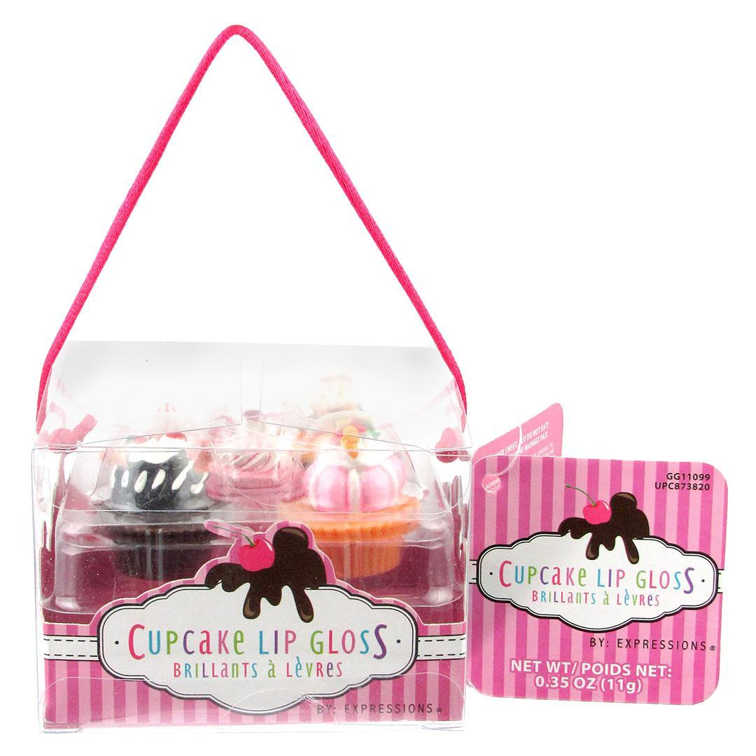 Expressions Cupcake LIP GLOSS 5 Pack [2130011]