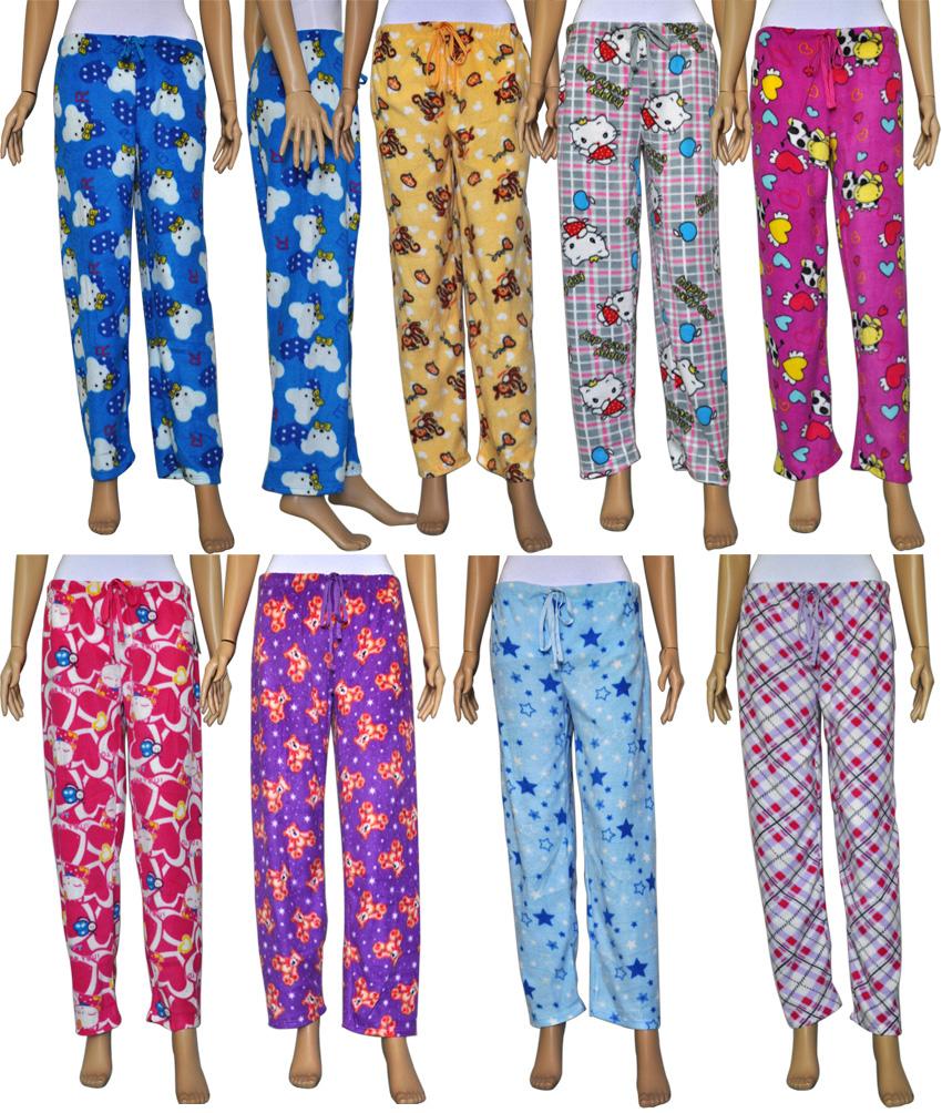 Women's Fleece PAJAMA Pants (1470659)