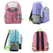 American Princess Plaid Butterfly Backpacks