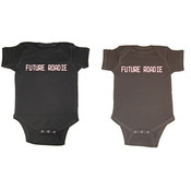 &#39;&#39;Future Roadie&#39;&#39; Short Sleeve Baby Creepers
