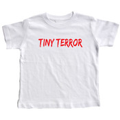 &quot;Tiny Terror&quot; Short Sleeve Toddler T-Shirts