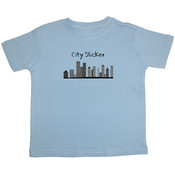 &quot;City Slicker&quot; Short Sleeve Toddler T-Shirts
