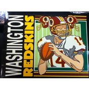 "13"" Tote Gift Bag Washington Redskins"