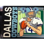 "13"" Tote Gift Bag Dallas Cowboy"