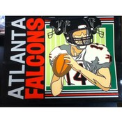 "13"" Tote Gift Bag Atlanta Falcons"