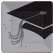 Square Graduation Style Plates