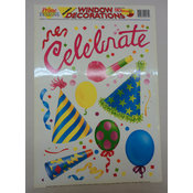 Celebrate! Window Clings Wholesale Bulk