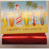 Surf Board Christmas Cards