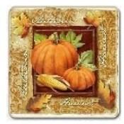 Autumn Pumpkins Coasters