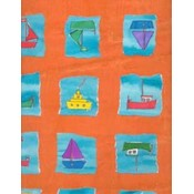 Kid Boat Flat Gift Wrap Wholesale Bulk