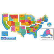 United States Map Wall Poster