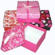Jewelry Gift Boxes- Heart Designs Wholesale Bulk