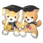 "8"" Graduation Bears with Music"