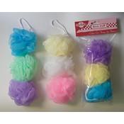 3 Piece Bath Sponge In Poly Bag